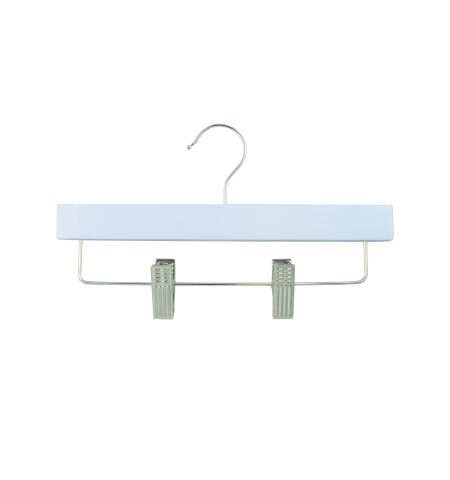 "Children's 11"" Pant/Skirt Hanger with Clips in Blue Color"